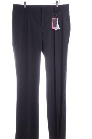 Mexx Pantalone elasticizzato nero-grigio gessato stile professionale