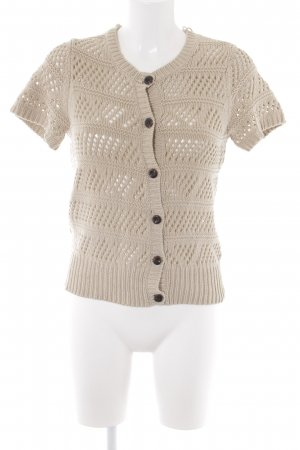 Mexx Strick Cardigan beige Casual-Look
