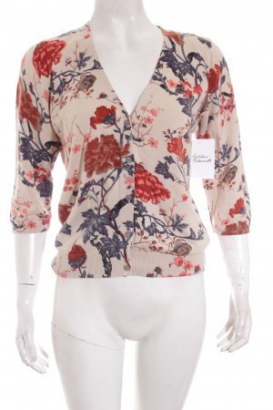 Mexx Strick Cardigan florales Muster Casual-Look