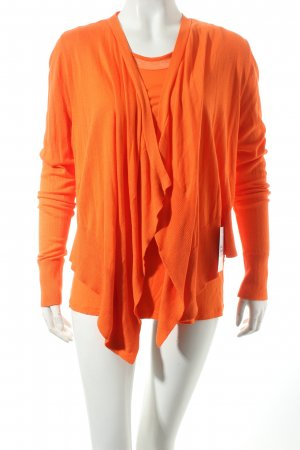 Mexx Strick Twin Set orange extravaganter Stil