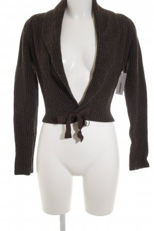 Mexx Strickbolero braun Casual-Look