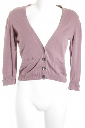 Mexx Strickjacke blasslila Casual-Look