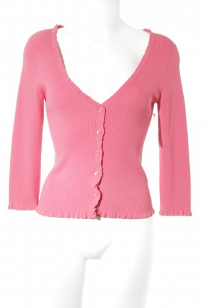 Mexx Strickjacke neonrot Casual-Look