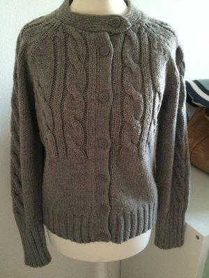 Mexx Strickjacke Pullover grau Winter