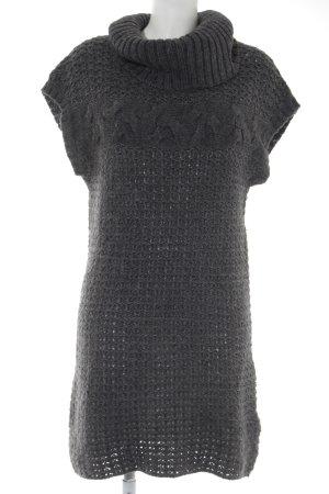 Mexx Abito di maglia antracite Motivo a maglia leggera stile semplice