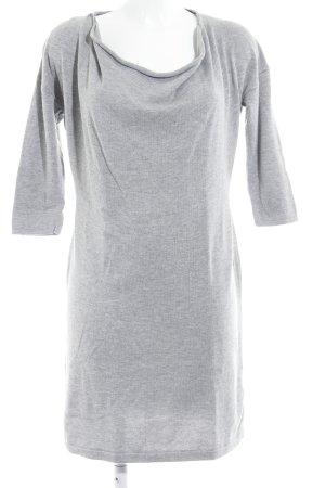 Mexx Abito di maglia grigio chiaro stile casual
