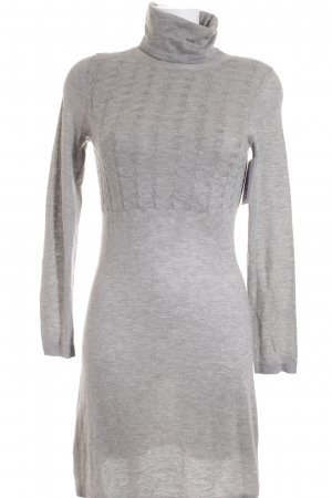 Mexx Strickkleid hellgrau Casual-Look