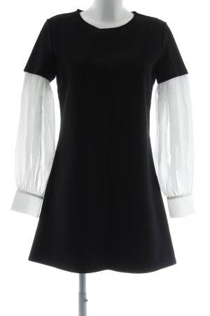 Mexx Abito di maglia nero-bianco stile casual