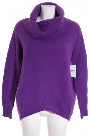 Mexx Strickpullover lila Street-Fashion-Look