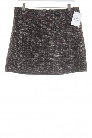 Mexx Knitted Skirt houndstooth pattern street-fashion look
