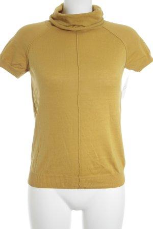 Mexx Strickshirt goldorange Casual-Look