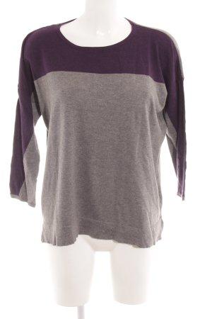 Mexx Camisa tejida gris-violeta oscuro look casual