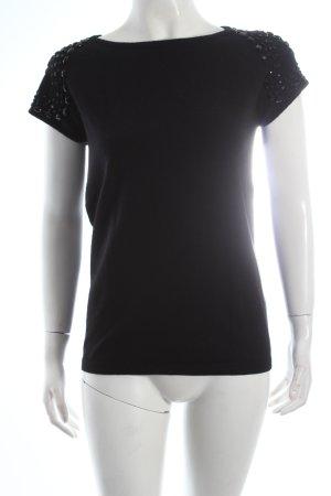 Mexx Strickshirt schwarz Kuschel-Optik