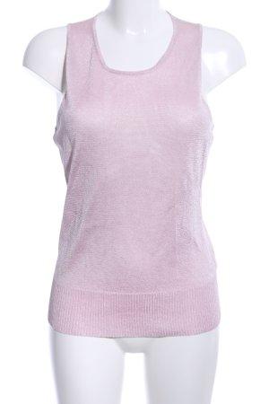 Mexx Top lavorato a maglia rosa stile casual