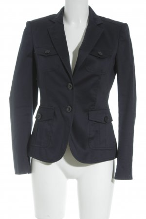 Mexx Sweatblazer dunkelblau Casual-Look