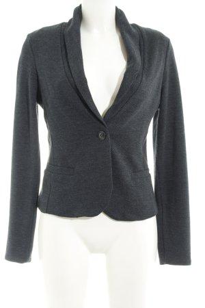 Mexx Sweat Blazer grey-dark grey zigzag pattern casual look