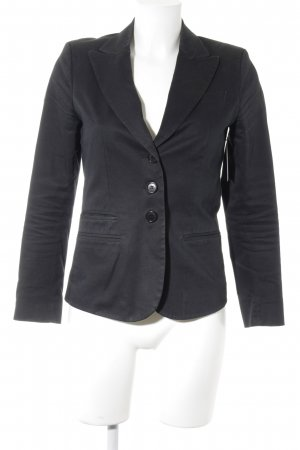 Mexx Sweatblazer schwarz Business-Look