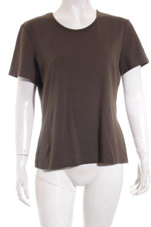 Mexx T-Shirt dunkelgrün Casual-Look
