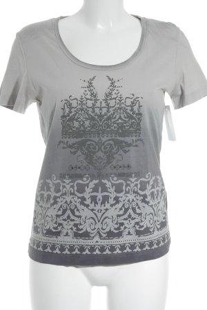 Mexx T-Shirt grau-graublau Farbverlauf Casual-Look