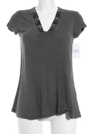 Mexx T-Shirt grüngrau Casual-Look