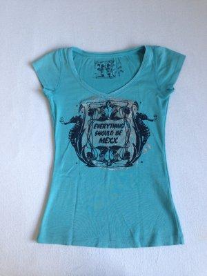 MEXX T-Shirt in Türkis größe XS