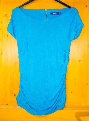 Mexx-T-Shirt mit seitlicher Raffung