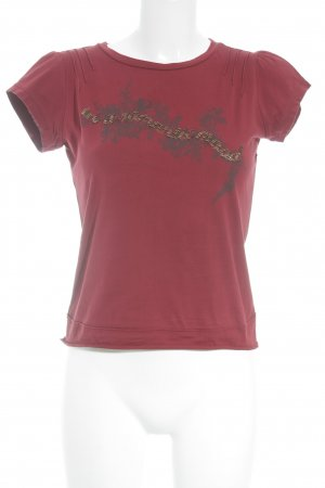 Mexx T-Shirt Motivdruck Casual-Look