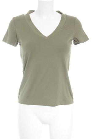Mexx T-Shirt olivgrün Casual-Look
