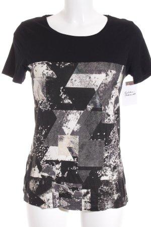 Mexx T-Shirt schwarz Casual-Look