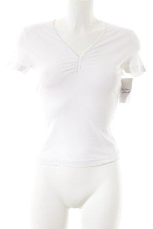 Mexx T-Shirt weiß schlichter Stil