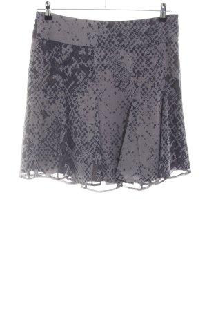 Mexx Jupe corolle gris clair motif abstrait style décontracté