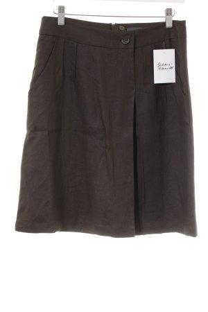Mexx Falda circular marrón oscuro look casual