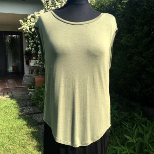 Mexx Backless Top green-olive green polyester