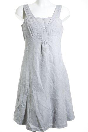 Mexx Trägerkleid grau-weiß Casual-Look