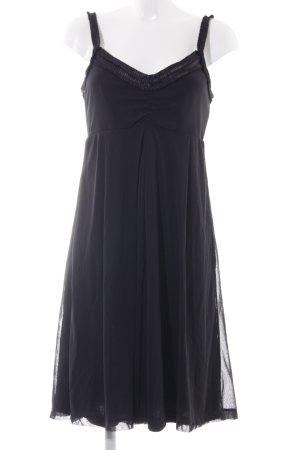 Mexx Trägerkleid schwarz klassischer Stil