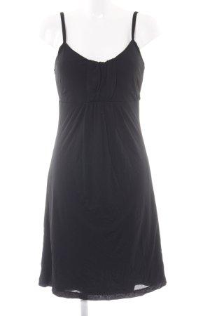 Mexx Trägerkleid schwarz schlichter Stil
