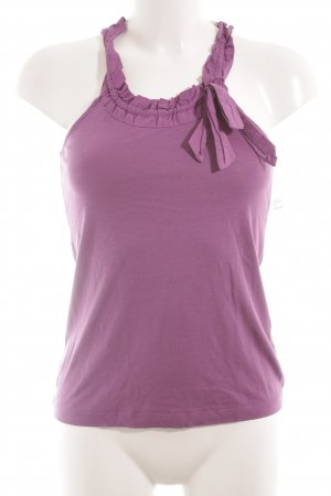 Mexx Strappy Top lilac casual look
