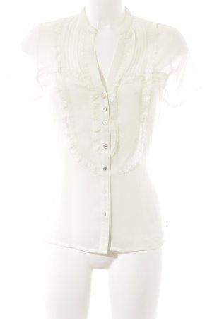 Mexx Transparenz-Bluse creme Elegant