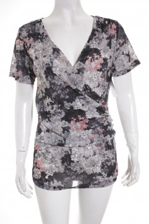 Mexx Transparenz-Bluse florales Muster Gypsy-Look