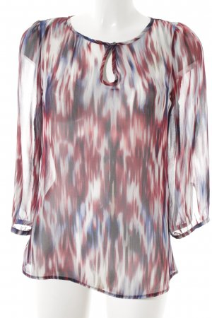 Mexx Transparante blouse Patroon-mengeling transparante uitstraling