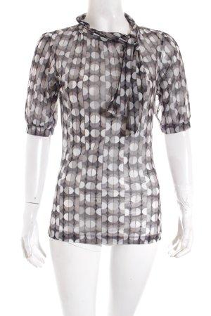 Mexx Transparenz-Bluse Punktemuster Street-Fashion-Look