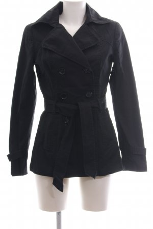 Mexx Trenchcoat schwarz Business-Look