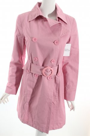 Mexx Trenchcoat rosa Casual-Look