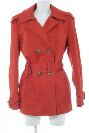 Mexx Trenchcoat rot Casual-Look