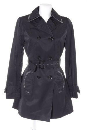Mexx Trenchcoat schwarz klassischer Stil
