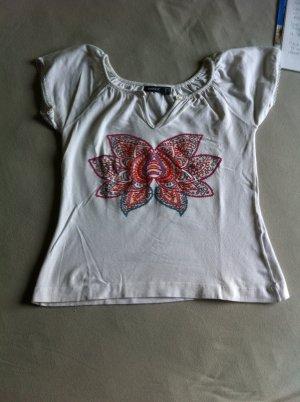 Mexx Tshirt mit Blume in S