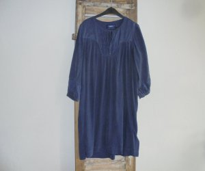 Mexx Empire Dress dark blue silk