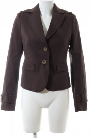 Mexx Tweedblazer braun Streifenmuster Business-Look