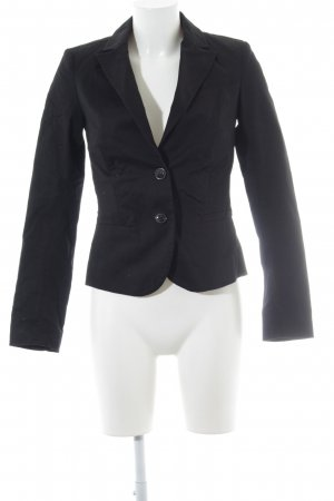 Mexx Tweedblazer schwarz Business-Look