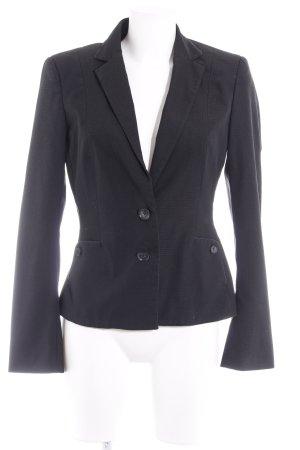 Mexx Tweed blazer zwart ruitpatroon zakelijke stijl